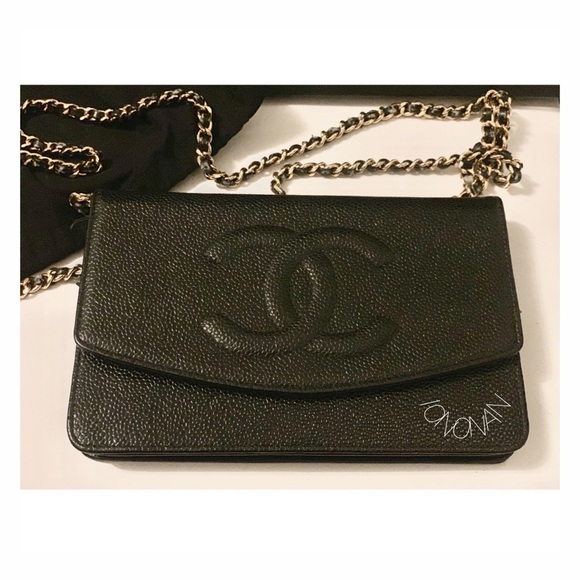 969d65c32 CHANEL Handbags - AUTHENTIC CHANEL Caviar Timeless WOC